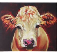 cow paintings cow canvas wall art cow art canvas