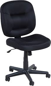 onespace low back black mesh task chair nylon base