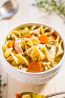 amazingly simple chicken noodle soup