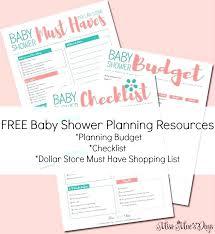 Baby Shower Checklist Planning Excel Jwintz