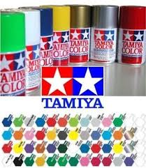 Tamiya Ps Paint Chart Tamiya Ps 1 Ps 63 100ml Polycarbonate Lexan Spray Paint