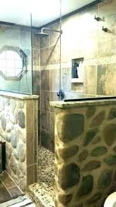 faux stone shower walls rock large size of natural wall tile sto
