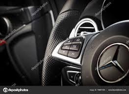 Mercedes-Benz CLA 45 2016 AMG interior – Stock Editorial Photo ...
