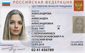 Novelty - Driver's Documents Best Russian License