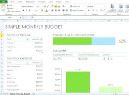 Simple Monthly Budget Template Magdalene Project Org