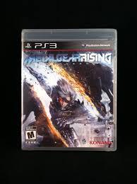 Metal Gear Rising Revengeance Playstation 3 Ebay