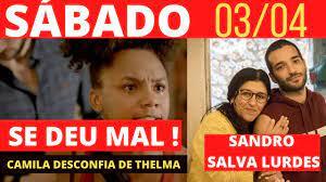 AMOR DE MÃE- Capítulo 03/04 - SÁBADO Resumo da novela Amor de Mãe hoje  completo THELMA é descoberta? - YouTube