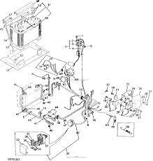 John deere parts diagrams john deere 770 tractor pc2227 battery wiring harness electrical