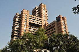 modern architecture. State Trading Corporation (1989). Photo: INTACH Delhi Chapter Modern Architecture E
