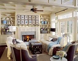 FICTITIOUS Country Style Living Room With Fireplace Stock Photo Country Style Living