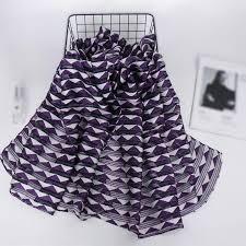 <b>Women's Hijab</b> Soft Solid Color High Quality <b>Organza</b> Stripes Scarf ...