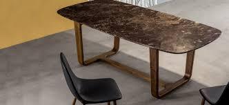 Medley: tavolo 220x110 cm u2013 piano marmo emperador lucido base