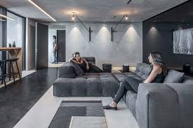Tal Design Monochrome Office Space By Tal Goldsmith Fish Design Studio