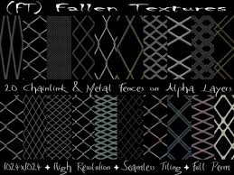 chain link fence texture with alpha. Simple Link FT Fallen Textures FULL PERM Chain Link Metal Fences Alpha 20  For Fence Texture With N