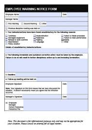 Form To Write Up An Employee Download Employee Write Up Forms Pdf