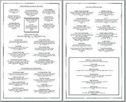 Menu Templates Free Download Word Wedding Menu Card Template