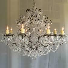 Full Size Of Chandelier:farmhouse Chic Chandelier Globe Fake  Shabby Lighting Light ... O