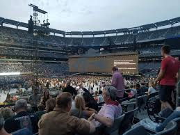 Metlife Stadium Section 117 Row 23 Seat 5 U2 Tour The