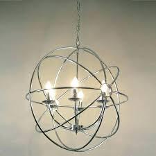 home and furniture beautiful sphere light fixtures in metal orb chandelier world market sphere light