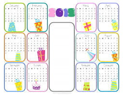 Calendar Raffle Template Template Calendar Raffle Template Yearly Birthday Printable Free