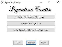 Email Signature Generator Download