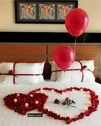 romantic room surprise valentines