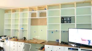 office desk with shelves. Stunning Install Wall To Built In Bookcases Over A Desk Home Is Office Room Shelves With S