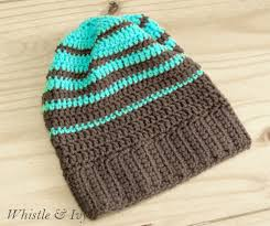 Hipster Beanie Crochet Pattern Adorable Striped Hipster Slouchy Beanie Whistle And Ivy