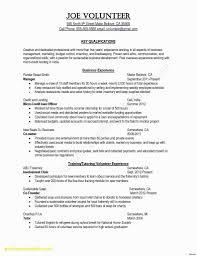 Sample Resume Template Word Fresh Resume Templates Microsoft Word