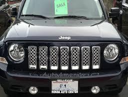 jeep patriot chrome grill inserts, custom look, great prices 2014 Jeep Patriot Fuse Box at 2014 Jeep Patriot Lighting Wiring Diagram