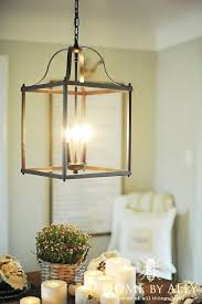farmhouse lighting ideas. lowes allen u0026 roth light fixture farmhouse fall home tour lighting ideas r