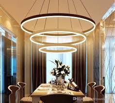 dining lighting fixtures. Plain Lighting Circle Rings Modern Led Pendant Lights Acrylic Chandeliers Lighting  Designer Lamps Living Room Dining Fixtures Pendants Hanging  Inside E