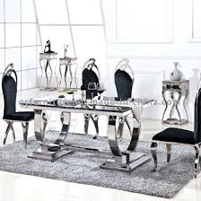 dual furniture. Marble Pedestal Dining Table Home Furniture Top Dual Stainless Steel Travertine E