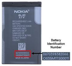nokia battery. according to nokia said that the 100 incidents with battery occurred while charging battery. also added only a portion of bl-5c -