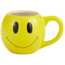 Smiley Face Coffee Mug Happy Face Mug Pier 1 Imports