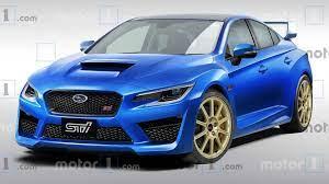 Subaru Wrx Sti 2021 2 4 Liter Turbo Boxer Mit 400 Ps