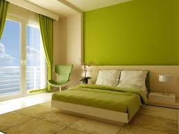 bedroom lime green bedroom showing green wall theme and green bed cover on the bed