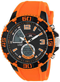 amazon com u s polo assn sport men s us9483 sport watch amazon com u s polo assn sport men s us9483 sport watch orange silicone band watches