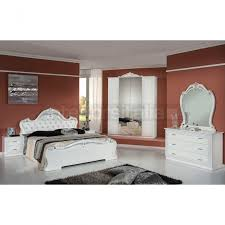 white italian bedroom furniture. Emily - Classic Italian Bedroom Set White Furniture Z