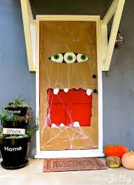 Paper bag door monster