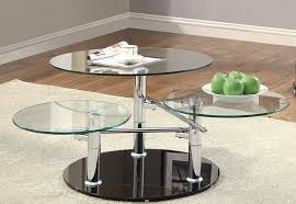 modern glass swivel coffee table full size of living room modern stylish coffee tables