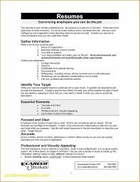 Good Things To Say On A Resume Best Of Resume Writing Objective