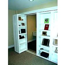 closet door bookcase bookshelf plans large size of ideas