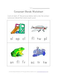 Check out our different sets of worksheets that help kids practice and learn phonics skills like beginning sounds, rhyming and more. Consonant Blends Worksheet Three Of Four All Kids Network
