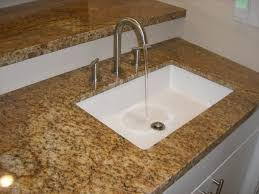 stunning best undermount kitchen sinks for granite countertops interior chic white square sink brown countertop amazing from quality materials