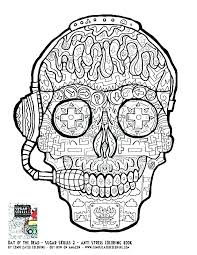 Coloring Pages Of Skulls Coloring Pages Skulls Flames Lovely Skull