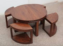 dining table round space saving