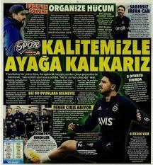 Fenerbahçe haberleri - 13 Şubat