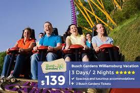 busch gardens williamsburg packages. Modren Busch Williamsburg Vacation With Busch Gardens Tickets On Packages