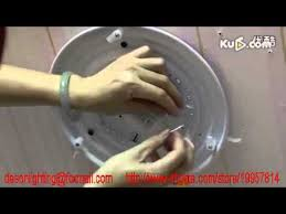 install lighting fixture. Install LED Ceiling Light Fixture,Replace Traditional Circular Fluorescent Tubes - YouTube Lighting Fixture H